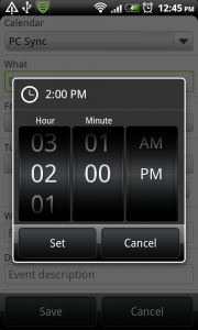 Date and Time picker – Wheel | Android Interaction Design