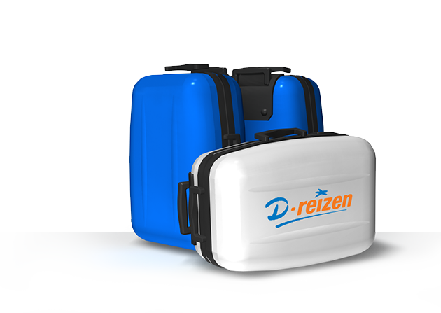 luggage d-reizen