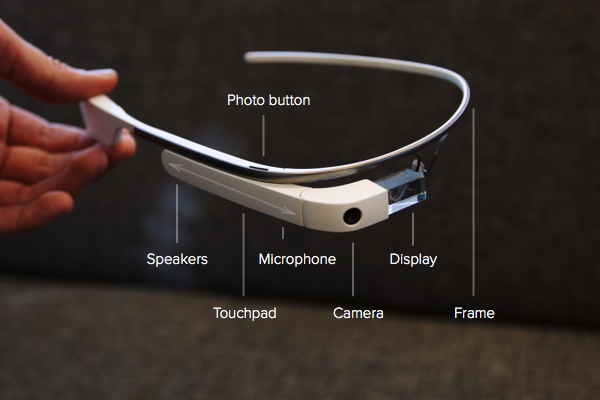 Onderdelen Google Glass