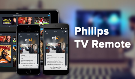 Philips TV Remote. Control your smart tv with a touch