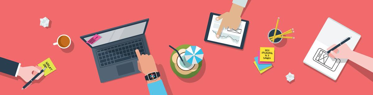 Je vakantie-inspiratie omzetten in een tastbaar product? Win een design sprint!