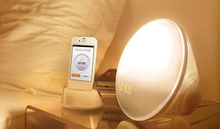 Philips Wekker Licht : Philips wake up light app u2013 unitid u2013 interaction designers