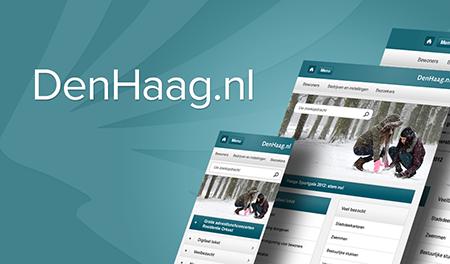 DenHaag.nl, nu ook voor mobiele devices.