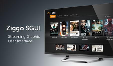 Wereldprimeur. Ziggo zet TV-interface in de cloud