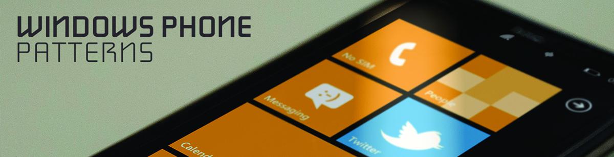 Nieuw: Windows Phone Patterns